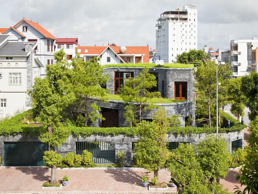 công trình xanh do võ trọng nghĩa thiết kế