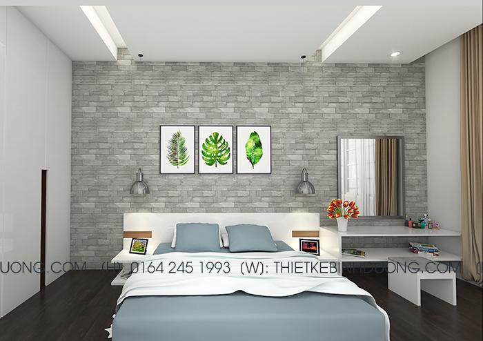 thiết kế phòng ngủ bome bd